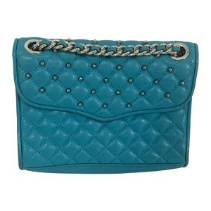 Rebecca Minkoff Turquoise Quilted CrossodyBag